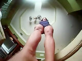 Giantess upskirt
