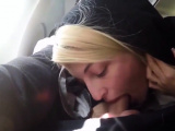 Sexy Hot best blowjob in a airplane