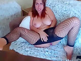Very Hot Busty Wife Masturbates And Squirts