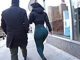 THICK booty in the streets!