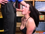 Getting Herself to Enjoy His Hard Cock
