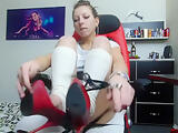 jeyssy69 ride big black toy with front on cam / old video