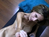 Pov titjob from sexy amateur blonde bitch