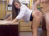 Amateur Hottie Pounded In The Pawnshop To Earn Extra Cash
