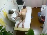 Enticing Asian babe with a spicy ass has a masseur caressin