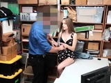 Staggering chick Kimmy Granger gets squeezed and teased