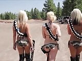 GRL FORCE - GUNS & BIKINIS EDITION!
