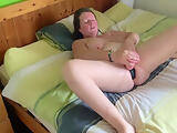 home alone housemate filming herself with new butt plug,found on her laptop