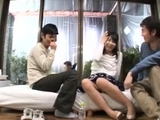 Reality Kings Carshop threesome with hot teen
