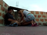 Astonishing oriental brunette youngster Laura and big pole