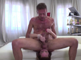 Teen redhead gets her pussy licked and fucked by Rocco