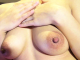 Granny with hard nipples and hairy pussy
