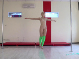 Dora Tornaszkova hot naked gymnastics