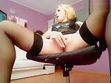 LUXURY_MISTRESS in black stockings
