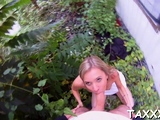 Alluring blonde Soni fingered and licked