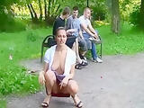 Flashing in the park