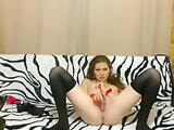 Graffinya handcuffed and shoved in the pussy vibrator