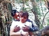 indian bf & gf sex in forest