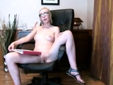 Blonde amateur masturbates with toys for the camera