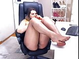 Pantyhose WEBcam model