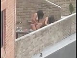 Strapon lesbians outdoors