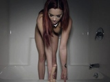 Luscious redhead minx is about to masturbate
