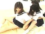 Asian Schoolgirl Group Fun Uncensored