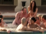 Swinger couples got together to fuck