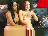 BTS INTERVIEW WITH EBONY AND LATINA MODEL