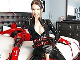 Mistress with her rubber doll
