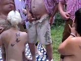 extreme german step siblings first public fuck orgy