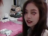 Korean celeb jennie so sexy face Halloween
